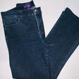Not Your Daughters Jeans. Size 10. Blue Denim.